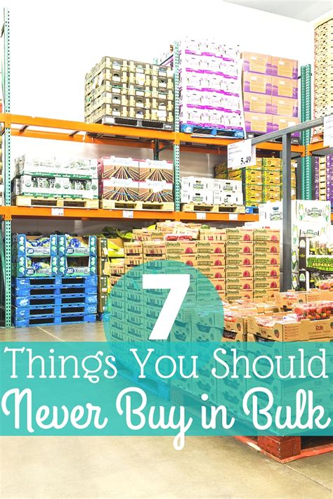 7 Surprising Items You Should Buy In Bulk by 7 Things You Should Never Buy In Bulk