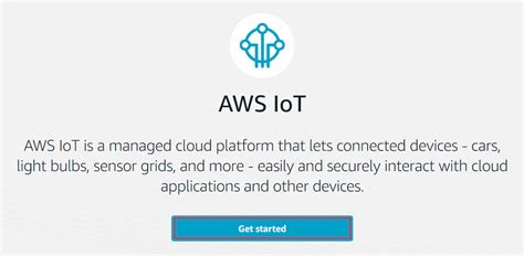 aws console sign in sign in to the aws iot console aws iot
