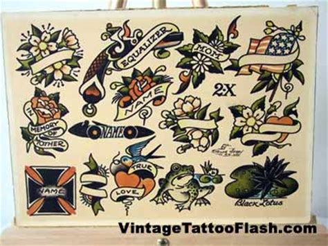 tattoo flash sheets for sale sailor jerry flash sheet 2x vintage tattoo flash