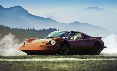 ANDRÉ CAMACHO DESIGN   Ferrari Dino 246 GT