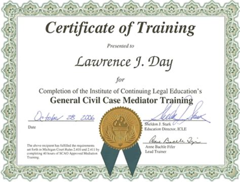 8 training certificate templates excel pdf formats