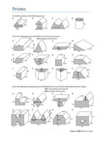 volumes of prisms worksheet by tristanjones teaching