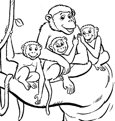 coloring page year of the monkey year of the monkey coloring page 279495