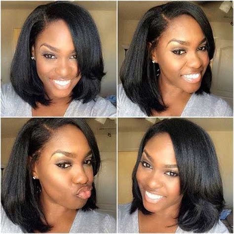 bob haircuts for black women with long front 20 long bob hairstyles for black women bob hairstyles