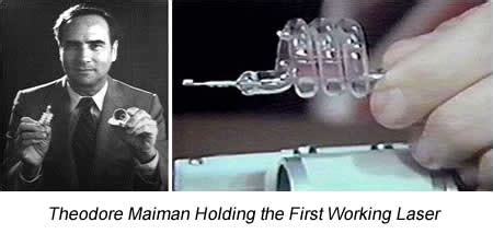 the laser inventor memoirs of theodore h maiman springer biographies books on may 16 1960 theodore h maiman operated the