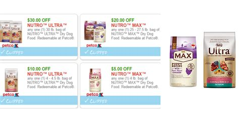 printable nutro max dog food coupons new 65 in nutro dog food coupons