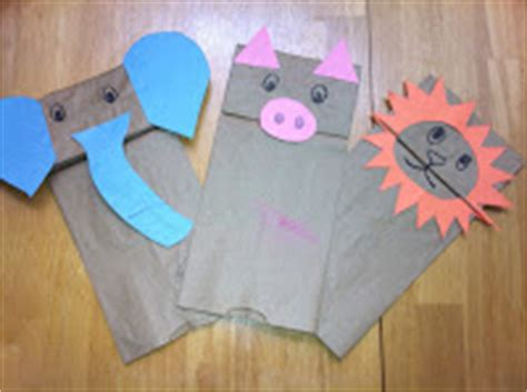 Things To Make Out Of Construction Paper - stinkeepants paper bag puppets
