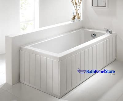 1675mm Shower Bath high gloss white extra height bath panels