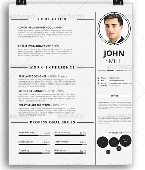 awesome printable resume templates awesome free resume cv templates 56pixels