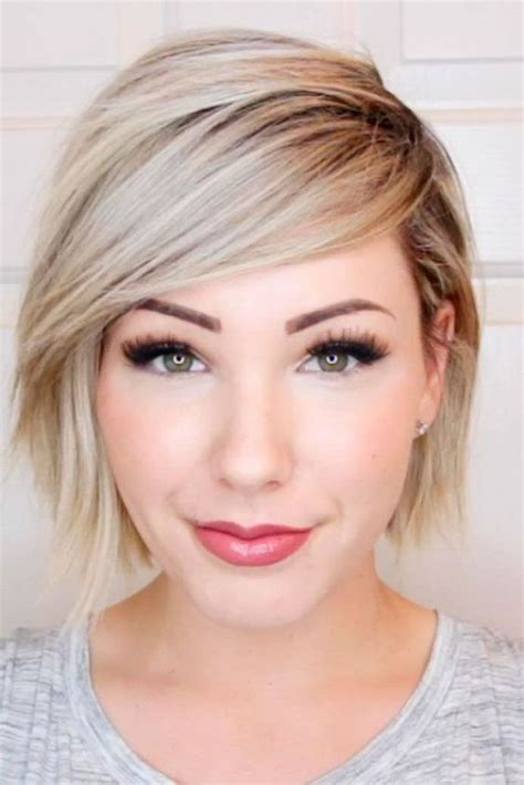 front haircut for round face video short hairstyles for round faces hubz