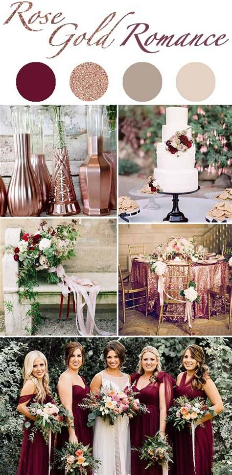 Wedding Colour Themes Autumn And Winter Weddings | 5 winter wedding color schemes so good they ll give you