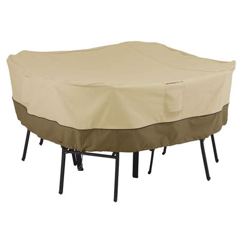 Square Patio Table Covers Classic Accessories Ravenna Medium Square Patio Table And Chair Set Cover 55 153 025101 Ec The