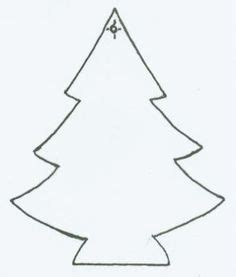 christmas tree patterns to cut out image result for tree cut out pattern szablony molde y navidad