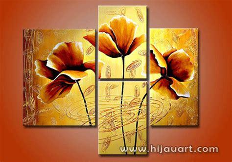 Lukisan Kaligrafi Bunga Merah Abstrak uncategorized idelukisan