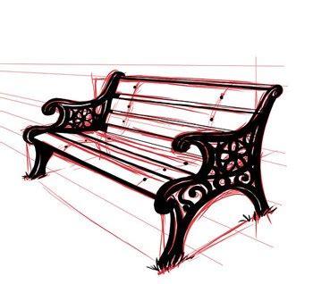 wie zeichnet eine sitzbank dekoking - Wie Zeichnet Eine