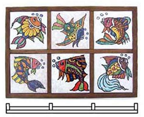 Display Methods Ceramics - framing ceramic tiles tile design ideas