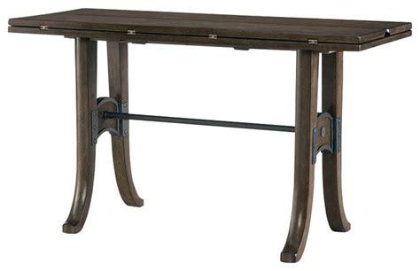 flip top table bench hammary hidden treasures flip top console table