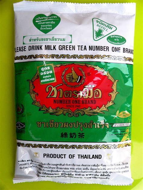 Thaitea Original 1 thai green tea milk powder number one brand since 1945 drink 200g ebay