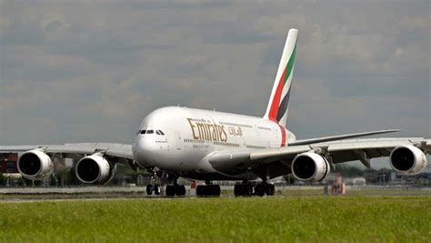 emirates lands in doha with world s shortest a380 flight