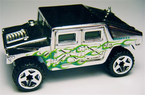 Hotwheels Humvee 598 hummer 06 chrome burnerz
