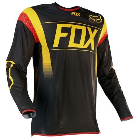 Fox Desain Kaos by Fox Racing Flexair Mxon Jersey Revzilla
