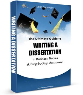 guide to writing a dissertation e book research methodology
