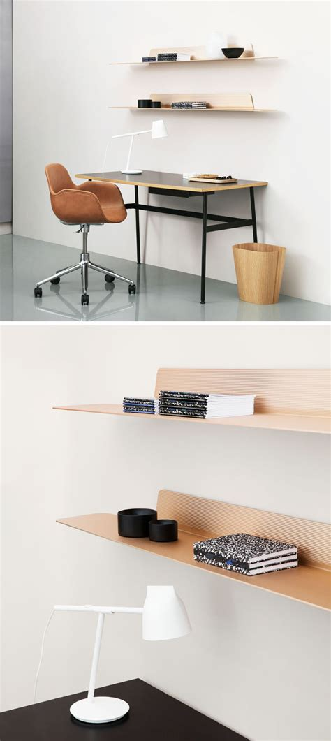 Thin Display Shelf Jet Is A Thin Modern Minimalist Shelf Contemporist