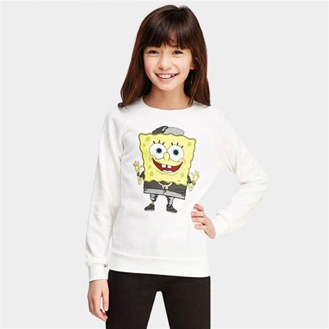Sweater Cewek Spongebob Sweater Murah yakuyiyi spongebob white sweater 50701t227 0cm