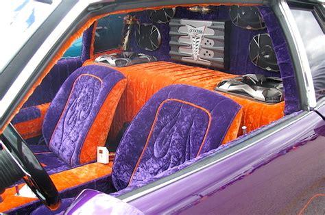 10 lowrider car interiors 2
