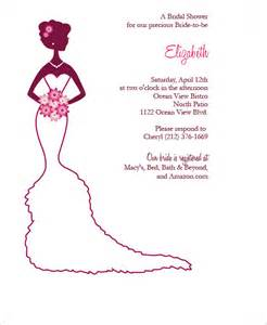 bridal shower invitation cards templates 22 free bridal shower printable invitations