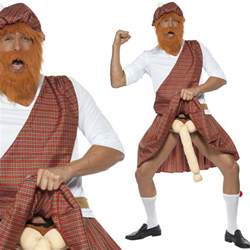 scottish highlander costume men s rude comedy funny stag