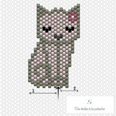 diagramme brick stitch diagramme brick stitch chats mitsy id 233 es conseils et