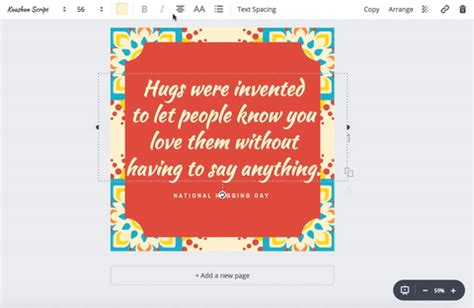 canva justify text formatting text canva help center