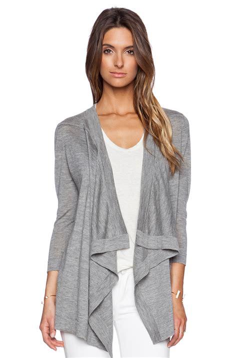 Sweater Rock autumn waterfall cardigan in gray rock lyst