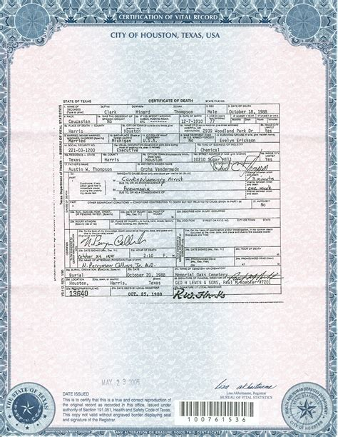 Marriage Records Houston Best Photos Of Certificate