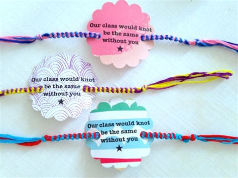 friendship bracelet valentines 33 best images about day of school class gifts