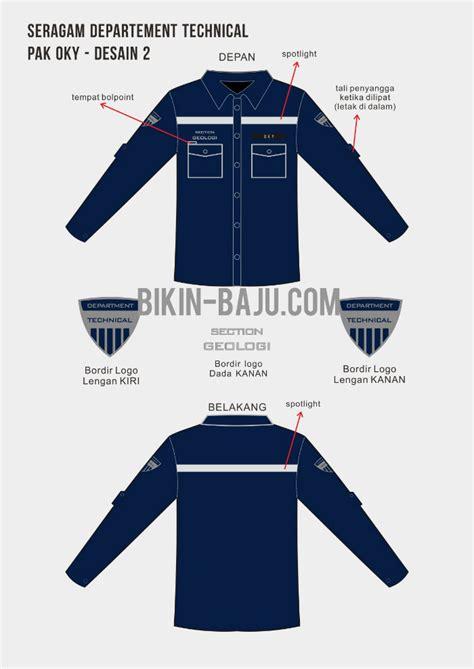 desain baju seragam kerja desain baju kerja lapangan ini akan membuat anda tetap