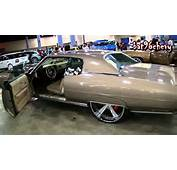 Light Brown 73 Caprice Donk On 26 Forgiato BRUSHED Wheels  1080p HD