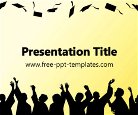 Graduation Ppt Template Free Powerpoint Templates Graduation Powerpoint Background