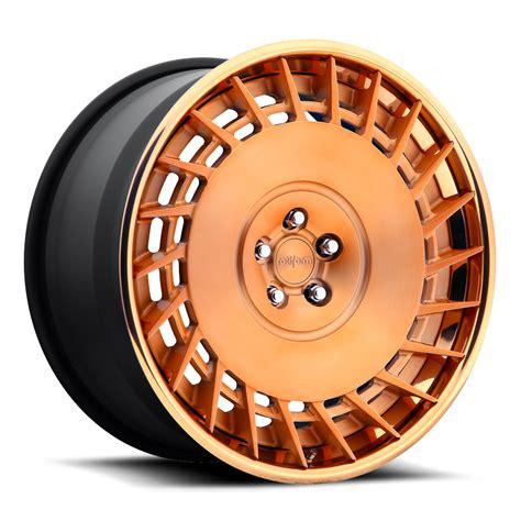 matte rose gold rotiform cbu wheels socal custom wheels