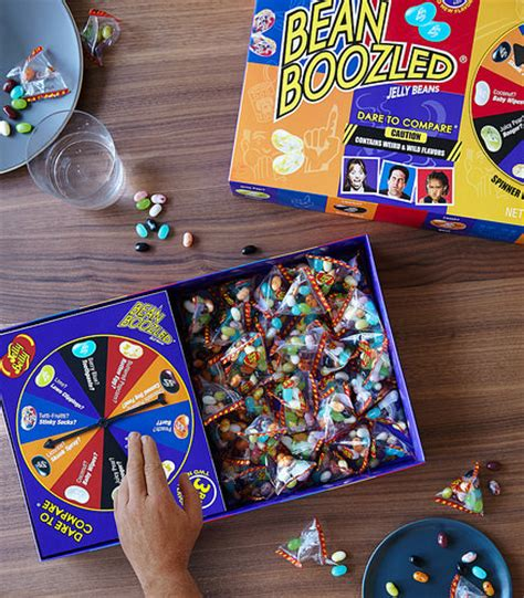 Original Bean Boozled Spinner Asli top performing jelly belly beanboozled line adds two must novelty items