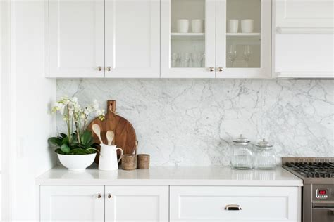 Kitchen Island Marble by Room Tour A Hamptons Kitchen Diy Decorator