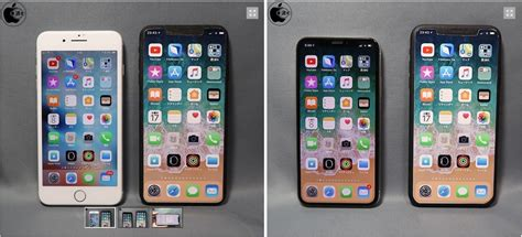 report 2018 iphone x will roughly be the size of iphone 8 plus and ios 12 to feature horizontal
