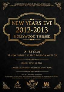 ra new years eve 2012 13 hollywood theme at 55 club
