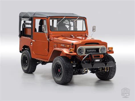 toyota company in usa restored land cruisers the fj company