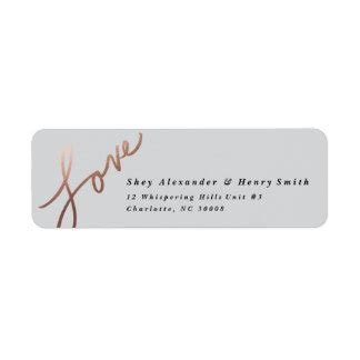 wedding invitation shipping address return address