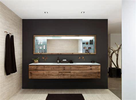 Waschtisch Bad Holz by Bad Mit Holz Dekoration Badezimmer Waschtisch
