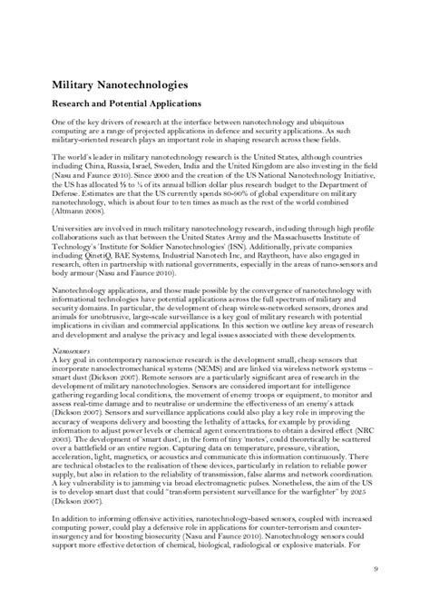 research paper on nanoparticles current research papers nanotechnology cardiacthesis x