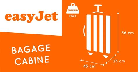 bagaglio cabina easyjet bagage cabine easyjet 2018 dimensions poids taille