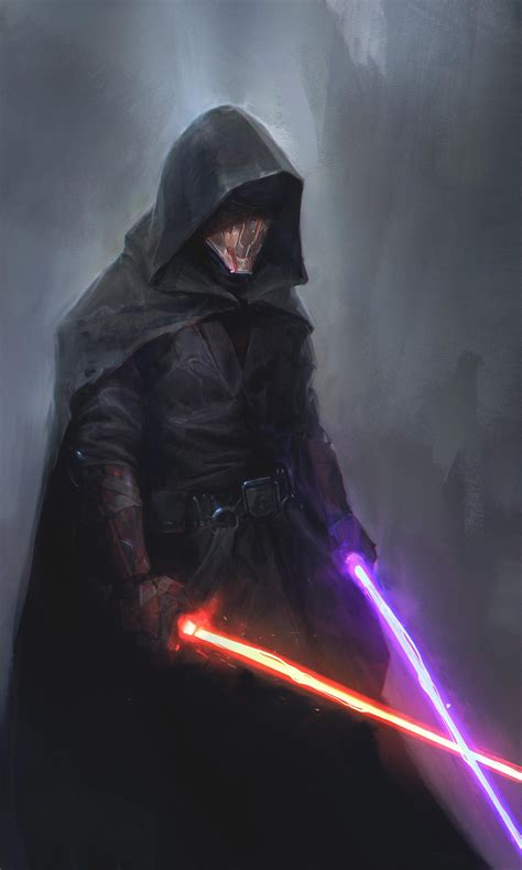 darth revan by pablo dominguez starwars